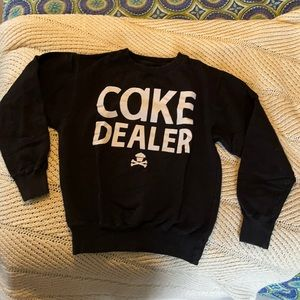 Johnny Cupcakes Cake Dealer Crew Neck Sweatshirt